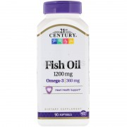 21st Century Fish Oil 1200 mg 90 soft