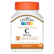 21st Century Vitamin C With Rose Hips 110 tabs